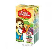 Фото Сады Придонья Сок яблоко, груша и слива, 125 мл