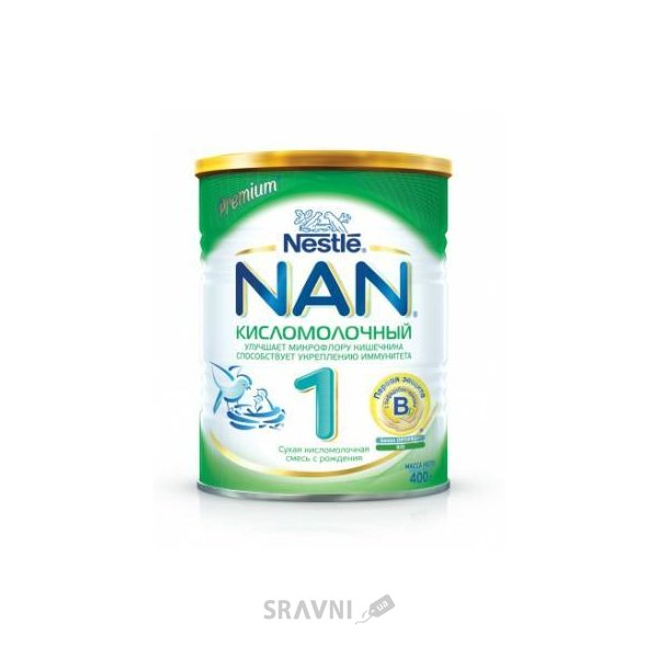Фото Nestle NAN 1 кисломолочный 400 г