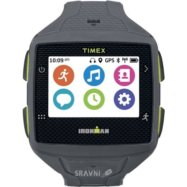 Фото Timex Ironman One GPS+ Watch - Without Heart Rate Monitor (Gray/Lime Green)
