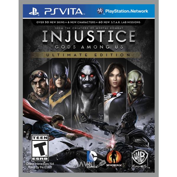 Фото Injustice: Gods Among Us (PS Vita)
