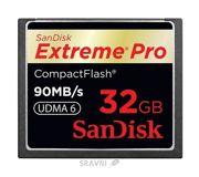 Фото SanDisk CF eXtreme Pro 32Gb (SDCFXP-032G-X46)