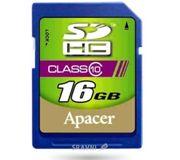Фото Apacer SDHC 16Gb Class 10