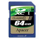 Фото Apacer SDXC Class 10 UHS-I 64Gb (AP64GSDXC10U1-R)