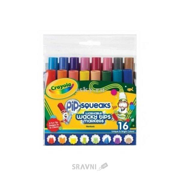 Фото Crayola 16 мини фломастеров ярких цветов (58-8709)