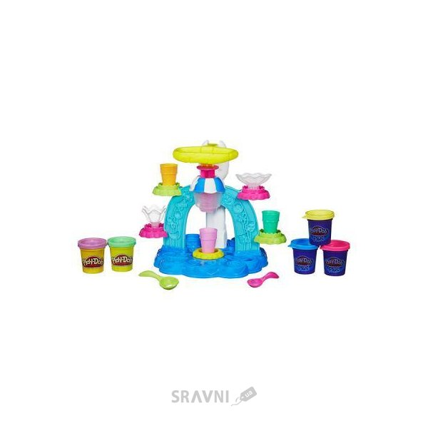 Фото Hasbro Play-Doh Фабрика Мороженого (B0306)