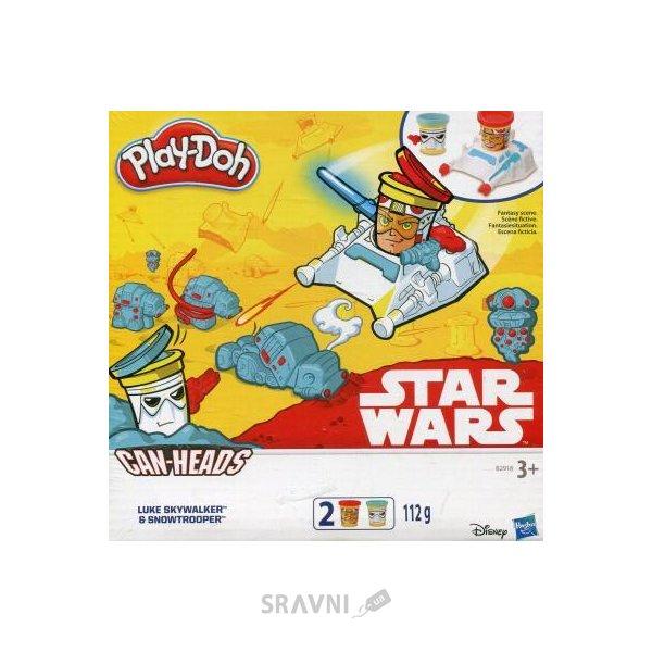 Фото Hasbro Play-Doh Герои Звездные войны (B0595)