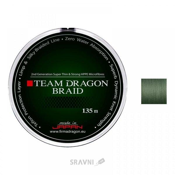 Фото Dragon Team Braid Green (0.12mm 135m 10.40kg)
