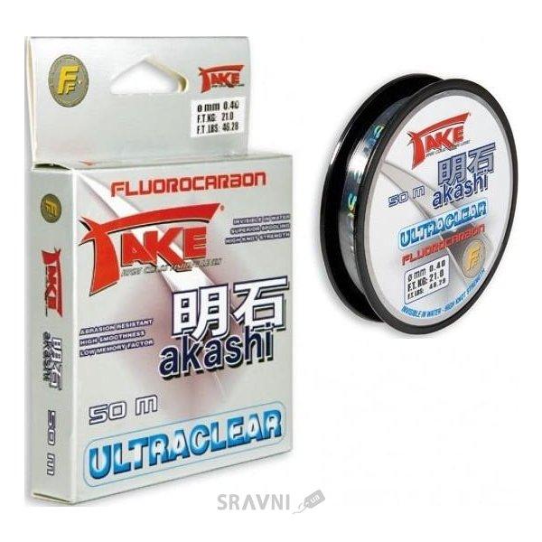 Фото Lineaeffe Take Akashi Ultraclear Fluorocarbon (0.35mm 50m 16.00kg)