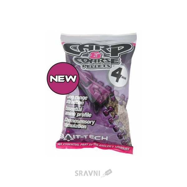 Фото Bait-Tech Пеллетс Carp and Coarse Feed Pellets 11mm 700g