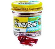 Фото Berkley Мотыль Powerbait Blood Worms (Малый) 150pcs