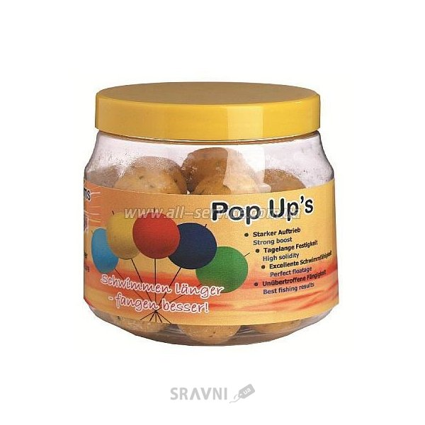 Фото Top Secret Бойлы PopUps Fish 20mm 100g