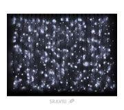 Фото Delux Curtain 456 LED 2х1.5m белый/черный IP44 (10008243)