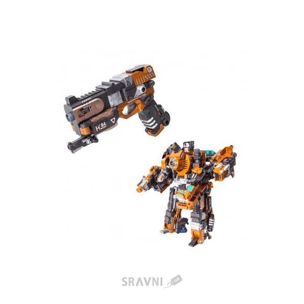 Фото RoboGun Пистолет-трансформер 2 в 1 CRUSHER (K04)