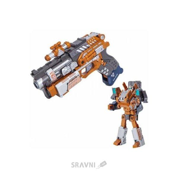 Фото RoboGun Пистолет-трансформер 2 в 1 SLIDER (K03)