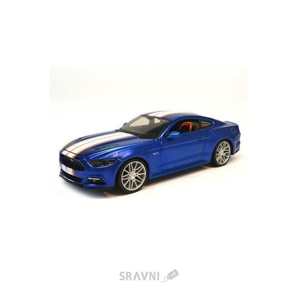 Фото Maisto Ford Mustang GT 2015 Blue, 1:25 (31369)