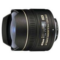 """Цены на Объектив Nikon 10.5mm f/2.8G IF-ED AF DX FISHEYE (JAA629DA) NIKON Nikon 10.5 mm f/2.8G IF-ED AF DX – объектив типа """"рыбий глаз"""". Крепление Nikon F; для неполнокадр. аппаратов; автоматическая фокусировка; мин. расстояние фокусировки 0.14 м; размеры (DхL):, фото"""