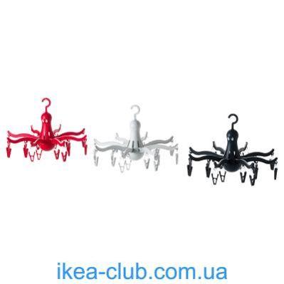 Фото IKEA PRESSA Вешалка для 16 предметов одежды (801.896.63)