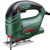 Цены на Bosch Электролобзик Bosch PST 650 Глубина пропила д/с/а - 65/4/- мм  Мощность - 500 Вт Скорость хода - 3100 ход/мин 20107244, фото