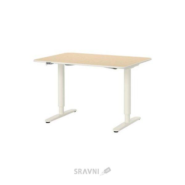 Ikea Bekant стол трансформер 120x80h65 125 99022507 купить в