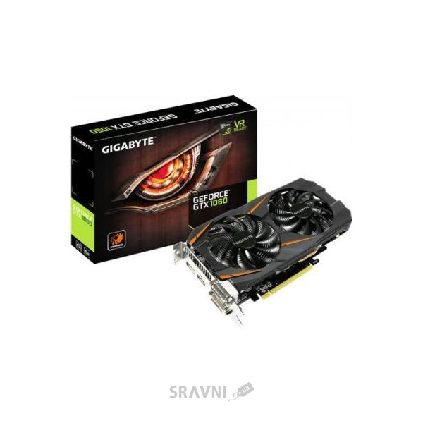 Фото Gigabyte GeForce GTX 1060 WINDFORCE 6G (GV-N1060WF2-6GD)